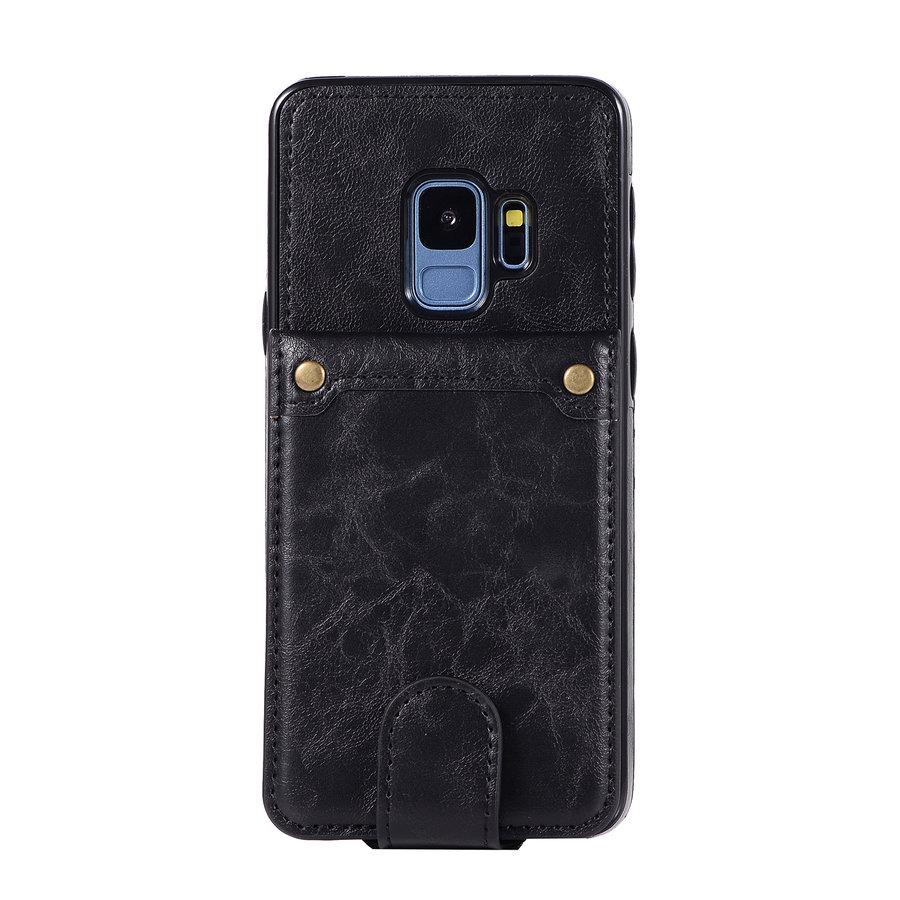 Samsung S9 Leer flip telefoonhoesje-1