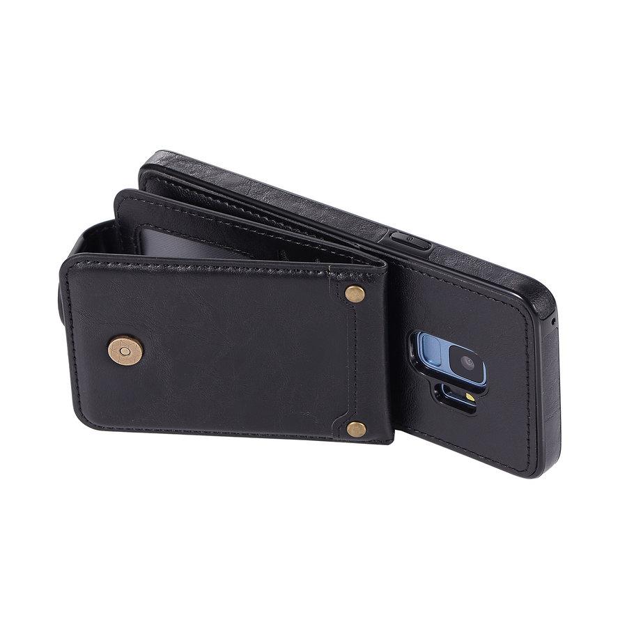 Samsung S9 Leer flip telefoonhoesje-2