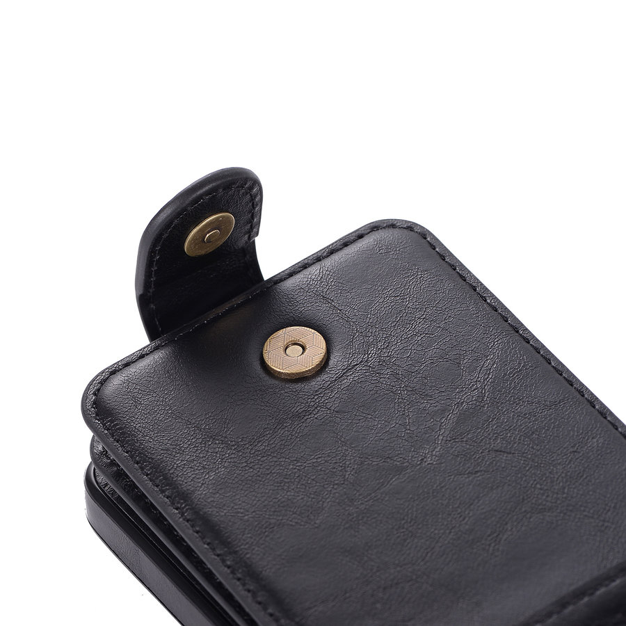 Samsung S9 Leer flip telefoonhoesje-3