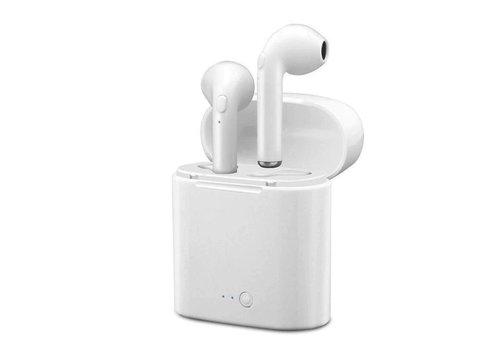 I7 TWS Mini bleutooth earpods - Wit