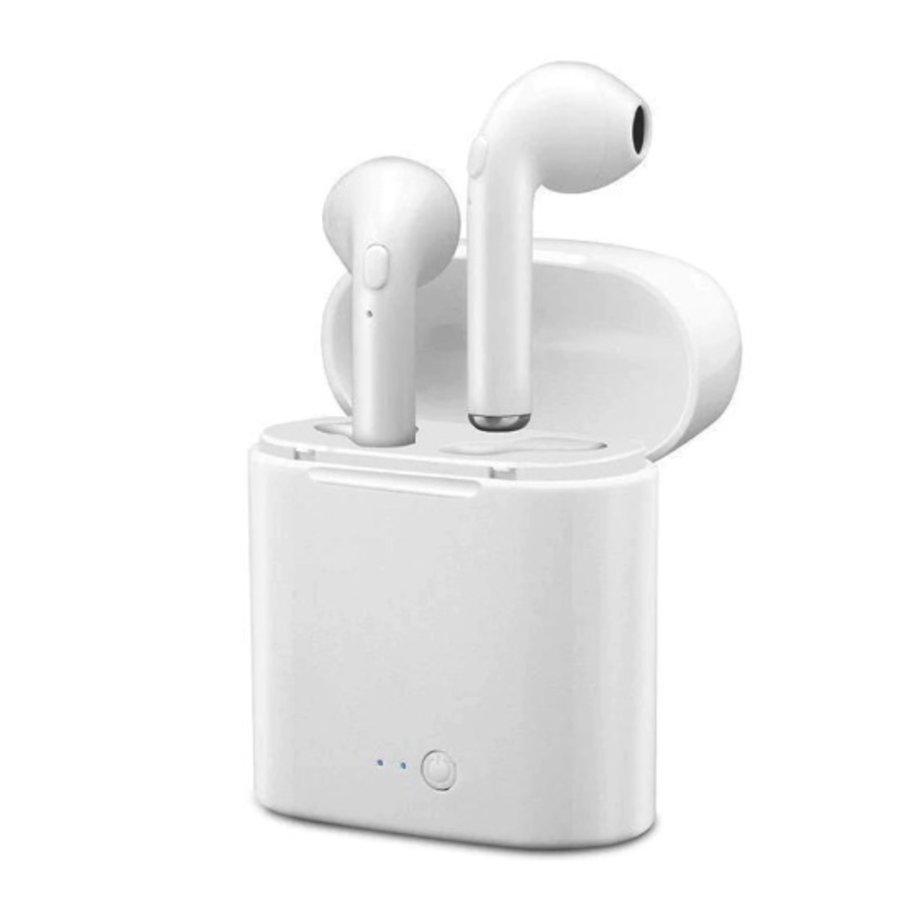 I7 TWS Mini bleutooth earpods - Wit-1