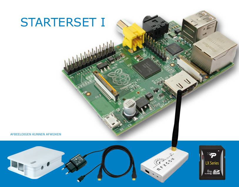 Raspberry Pi B+ Domotica set