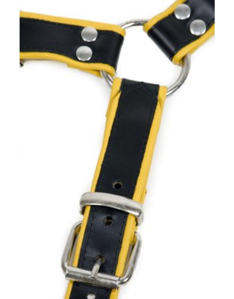 RoB H-front harnas met gele bies