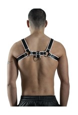 RoB H-Front Harness mit weissen Piping