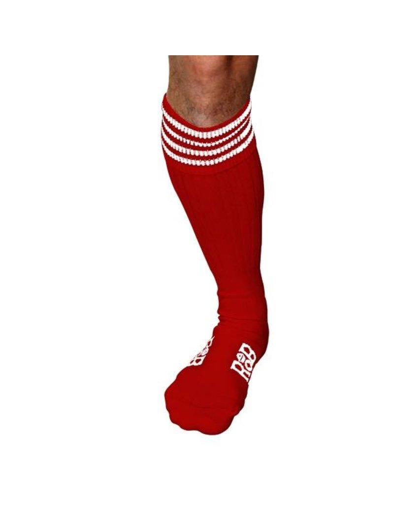 RoB Boot Socks Rot mit Weiss