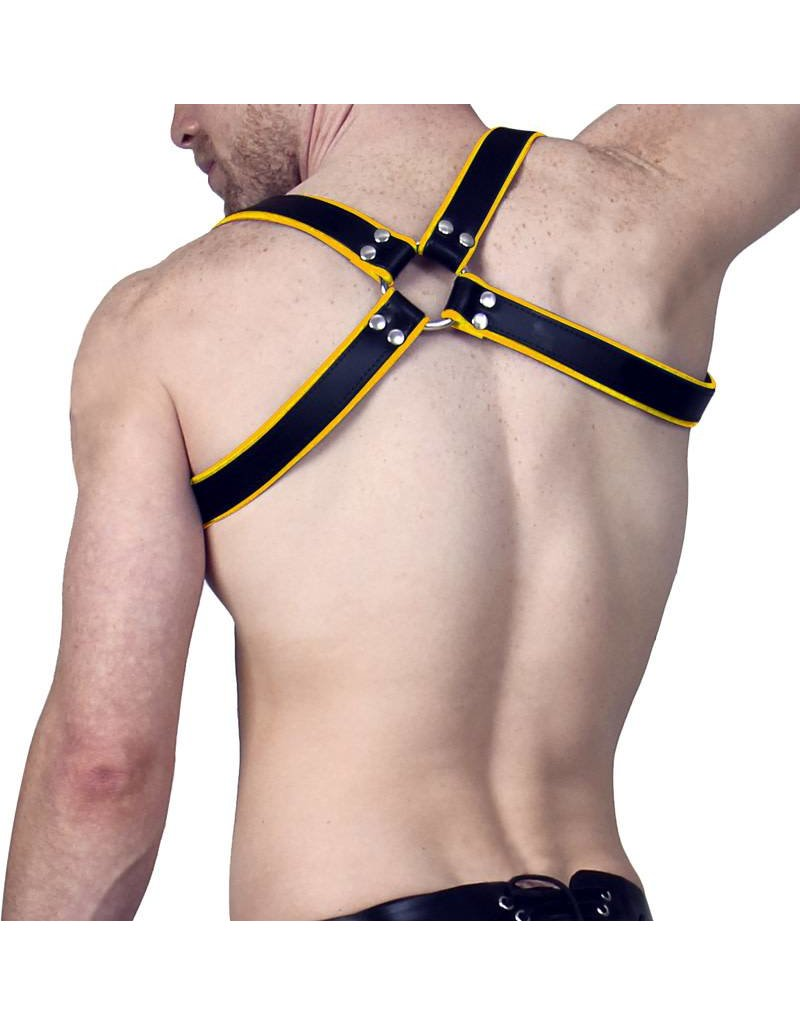 RoB Shoulder Harness Yellow Piping, buckle