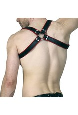 RoB Schulterharness Piping rot, Schnalle