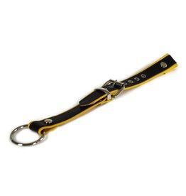 RoB Verlengingsstuk voor Y-front harnas zwart met gele bies