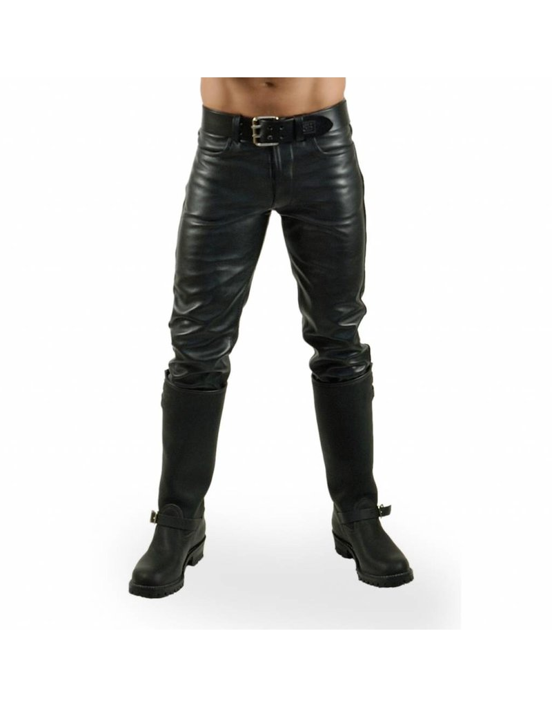 RoB Hipster jeans slim fit met doorlopende rits