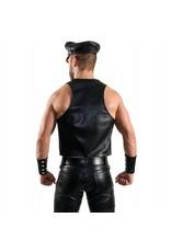 RoB Bartender waistcoat with double grey stripes