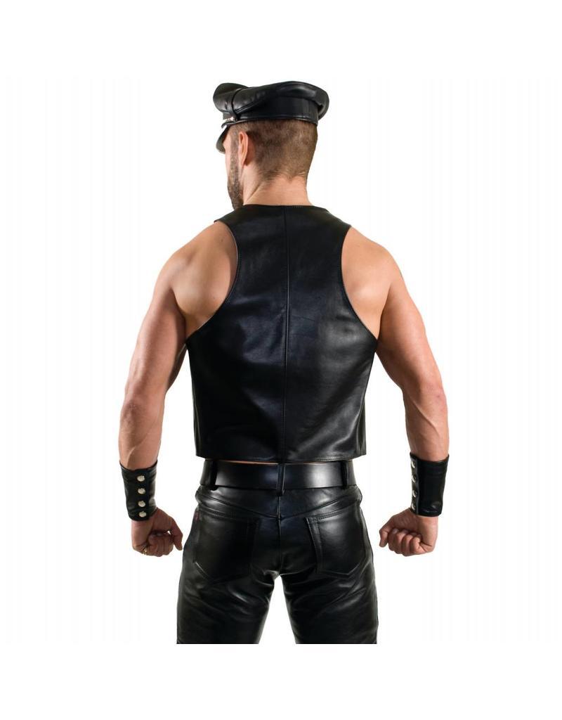 RoB Bartender vest met dubbele zwarte strepen