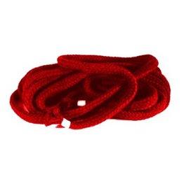 Bondage touw rood 8 mm, 1 meter