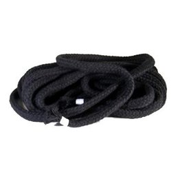 Bondage touw zwart 8 mm, 1 meter