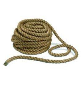 Bondage touw, hennep, 6 mm, 1 meter