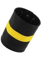 RoB Leder Armgeldbörse, gelber Streifen