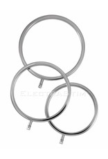 ElectraStim Solid Metal Cockrings Pack of 3