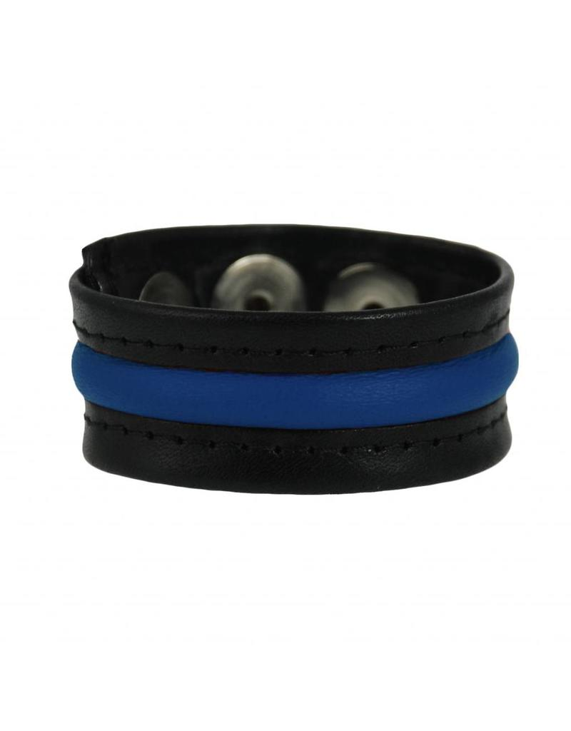 RoB 3-Snap-Cockstrap Blauw
