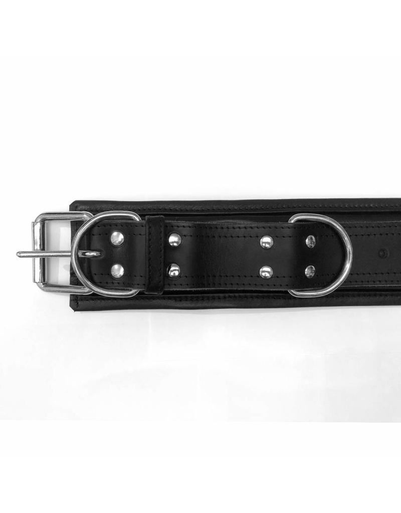 RoB Leather Wrist Restraints Extra Wide, Soft Padding
