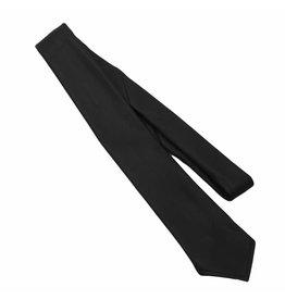RoB Leren stropdas zwart