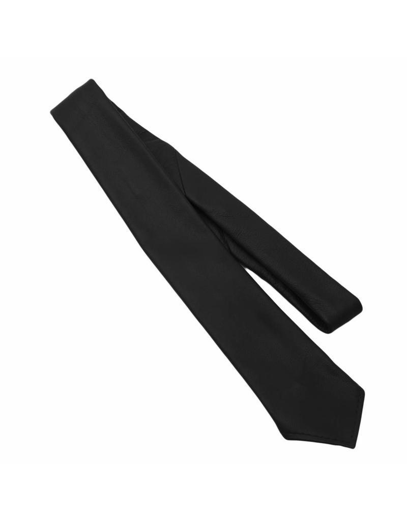 RoB Leather Tie black