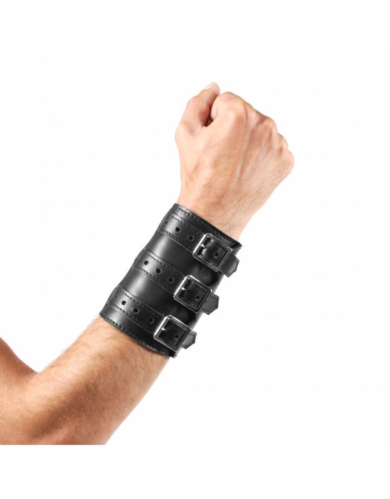 RoB 3-Schnallenarmband aus weichem Leder