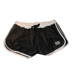 Sport Shorts black with white stripes