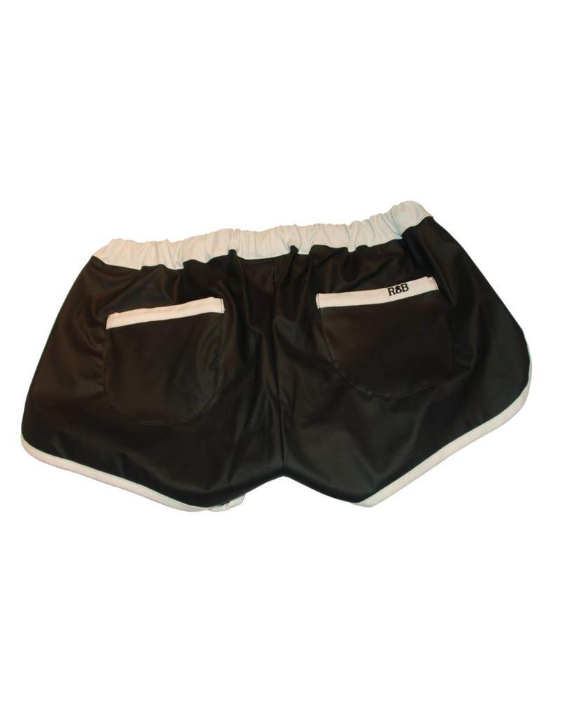 Sport Shorts black with white stripes