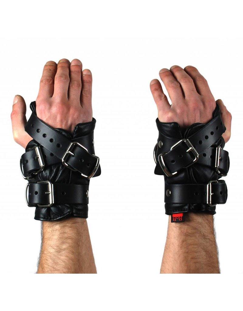 RoB Leather Wrist Restraints Heavy Duty