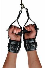 RoB Leder Arm Hängefesseln mit Stange