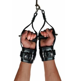 RoB Leather Suspension Wrist Restraints with bar