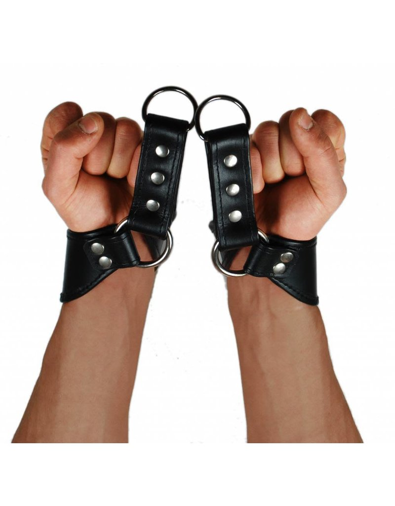RoB Leather Wrist Suspension Restraints Simple