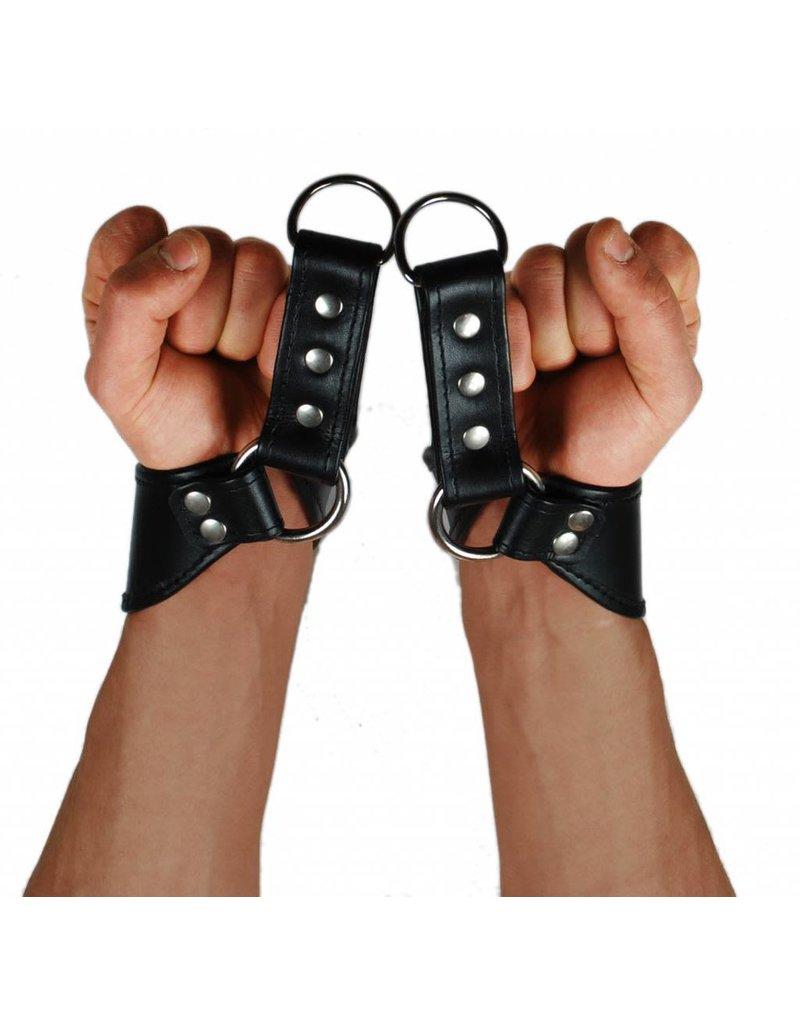 RoB Leder Armfesseln Einfach