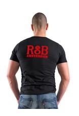 RoB T-Shirt zwart met rood