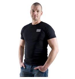 RoB T-Shirt zwart met wit logo