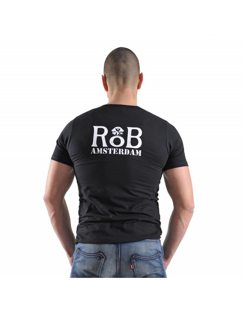 RoB T-Shirt Schwarz/Weiss