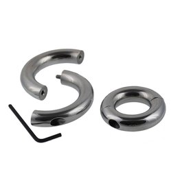 Masters in Steel Split cockring/ballstretcher