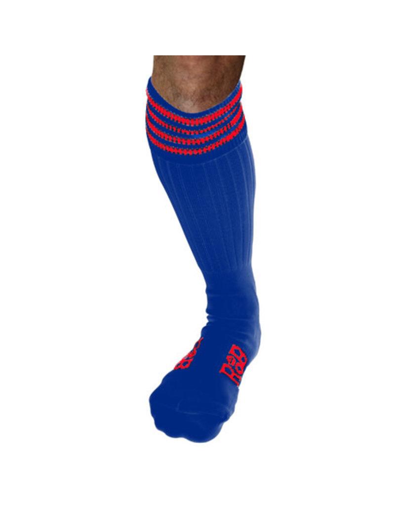 RoB Boot Socks Blau mit Rot