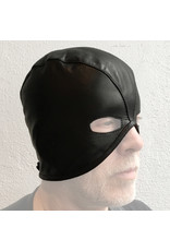RoB Leren guillotine masker met veter sluiting