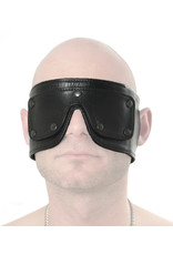 RoB Soft Leather Blindfold with Detachable Eyes