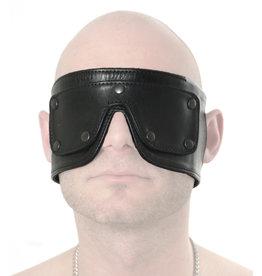 RoB Weiches Lederaugenmaske mit abnehmbarem Augenteil