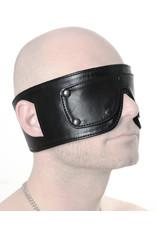 RoB Lederaugenmaske mit abnehmbarem Augenteil