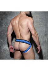 Addicted Double Stripe Jock Black/Blue