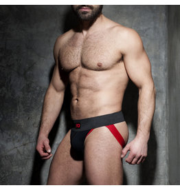 Addicted Rib Jock Black/Red