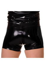 RoB Rubber Full Zip Shorts with double black stripes