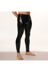 RoB Rubber Legging with full zip and black stripes