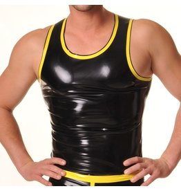 RoB Rubber singlet with yellow trim