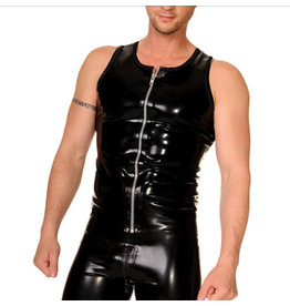 RoB Rubber Vest with front zip