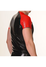 RoB Rubber T-Shirt with red sleeves