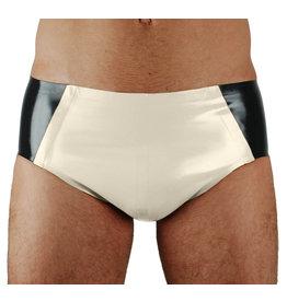 RoB Gummi Sport Slip mit weißer Front