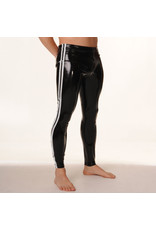 RoB Rubber Legging with full zip and white stripes